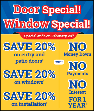 Month's Long Window and Door Sale at Renewal by Andersen