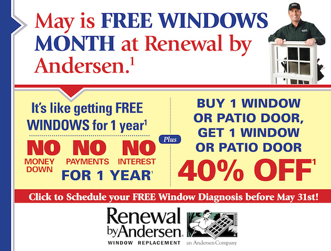 Free Windows Month at Renewal by Andersen
