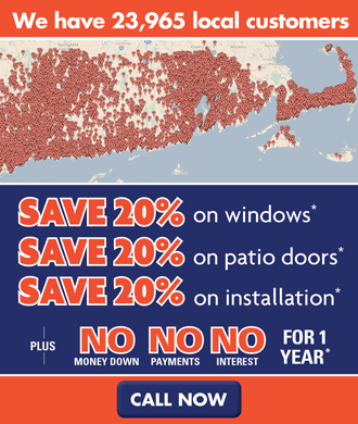 20% off Windows, Doors AND Installation